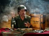 military portrait 2 poster