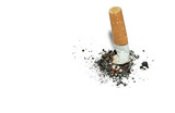 stop smoking  background with copyspace poster