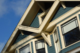 craftsman style house detail poster