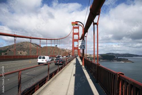canvas print picture golden gate bridge