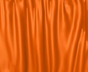 orange curtain orangener vorhang