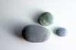 three round stones
