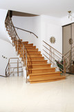 wood stair poster