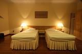 hotel bedroom poster