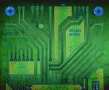 backside circuit board poster