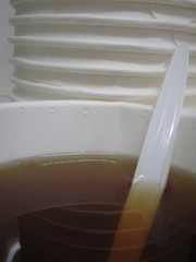 paper cup with tea