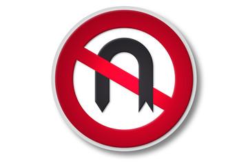 verkehrszeichen 2006: wendeverbot