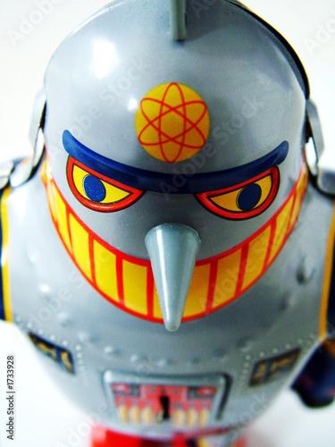 Foto op Canvas robot face