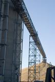 corn elevator conveyor poster