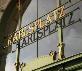 vienna austria karlsplatz
