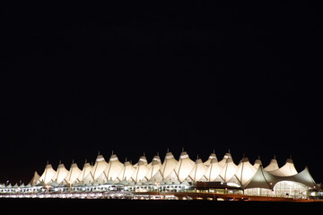 denver international at night