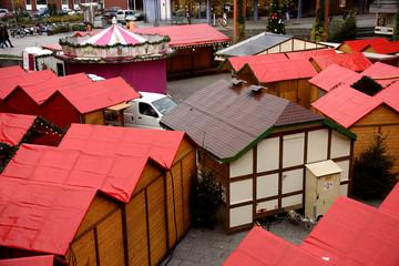aufbau des weihnachtsmarktes 2