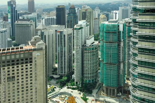 malaysia, kuala lumpur: petronas towers - 1743326