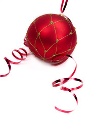 christmas ornament isolated