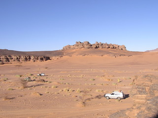 expedition dans le desert