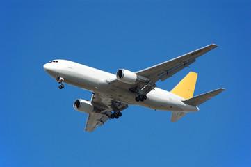 boeing 767 cargo jet airplane