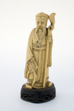 oriental ivory statuette poster