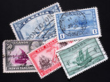 ship stamps poster