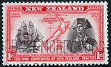 new zealand centennial stamp poster