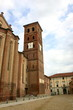 medieval church in asti, italy