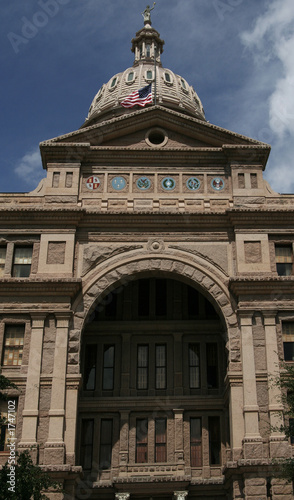 front of capitol texas