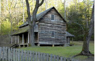 cades cove - Tipton House
