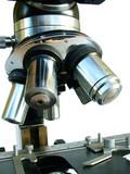 scientific microscope poster