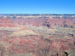long view from grand canyon