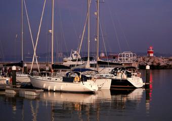 docked yachts 2