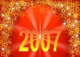 new 2007 year. star poster