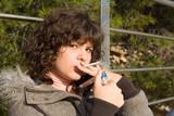 teen smoking poster