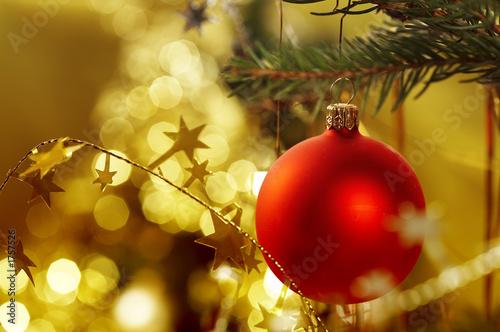 Leinwandbild Motiv christmas decoration