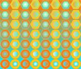geometric background poster