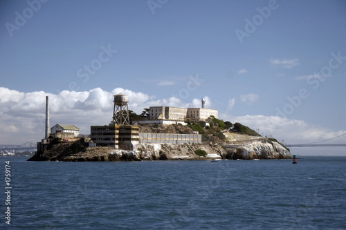 canvas print picture alcatraz - the rock
