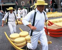 "Постер, картина, фотообои ""hollande alkmaar fromage"""