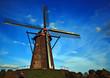 Quadro alte windmühle in leveroy
