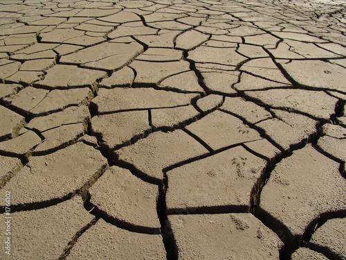 Plexiglas Droogte sequía