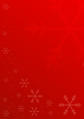 red christmas vertical background
