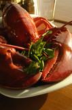 steamed lobster poster