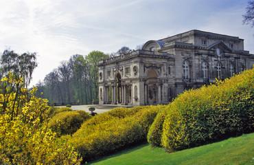 belgian royal palace in laeken