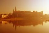 wawel castle during sunrise poster