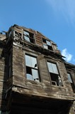 maison en ruines poster