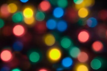 abstract christmas light