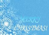 merry christmas.celebratory card poster