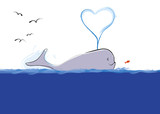 whale poster