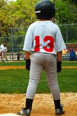 man on third base
