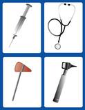 medical tools poster