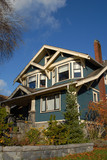 craftsman style house 1 poster