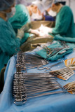 surgical tool on operation poster