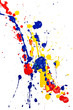 Leinwanddruck Bild - splash paint